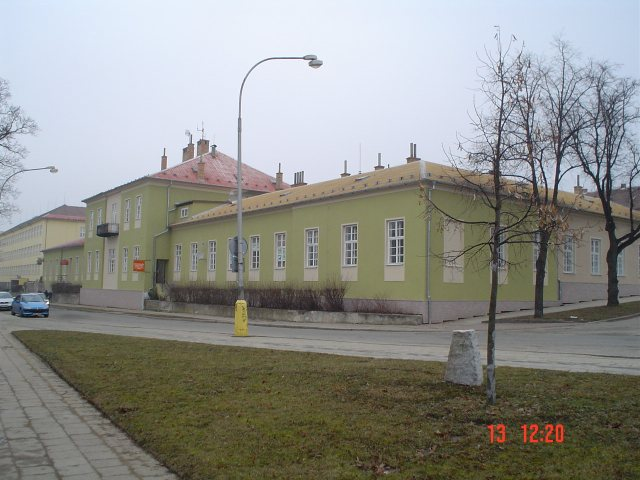 Budova BEVE Blansko